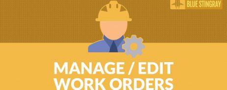 manage edit work orders in odoo with custom module
