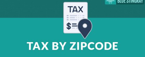 Enter Sales Tax by ZIP Code