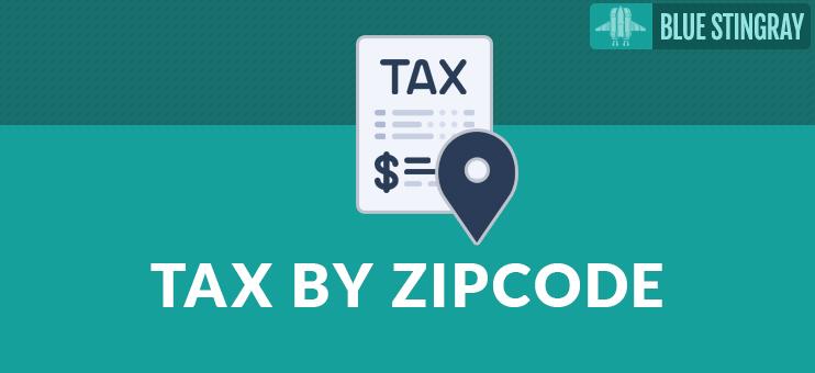 Enter Sales Tax by ZIP Code