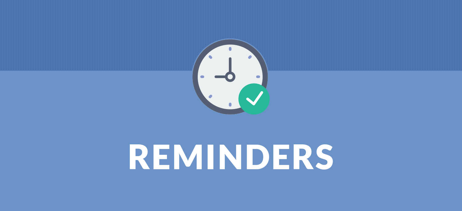 Create Reminders in Odoo