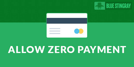Allow Zero-Amount Payments by Blue Stingray