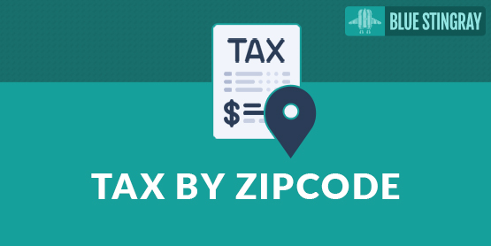 Taxes by Zip Code by Blue Stingray