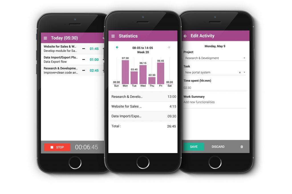 Odoo Timesheets App