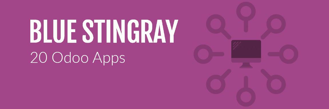 20 Odoo Apps by Blue Stingray - Blue Stingray